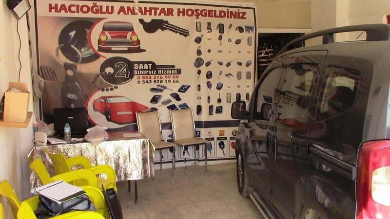 Eskişehir Oto Anahtar - Eskişehir Hacıoğlu Oto Kilit ve Oto Anahtar