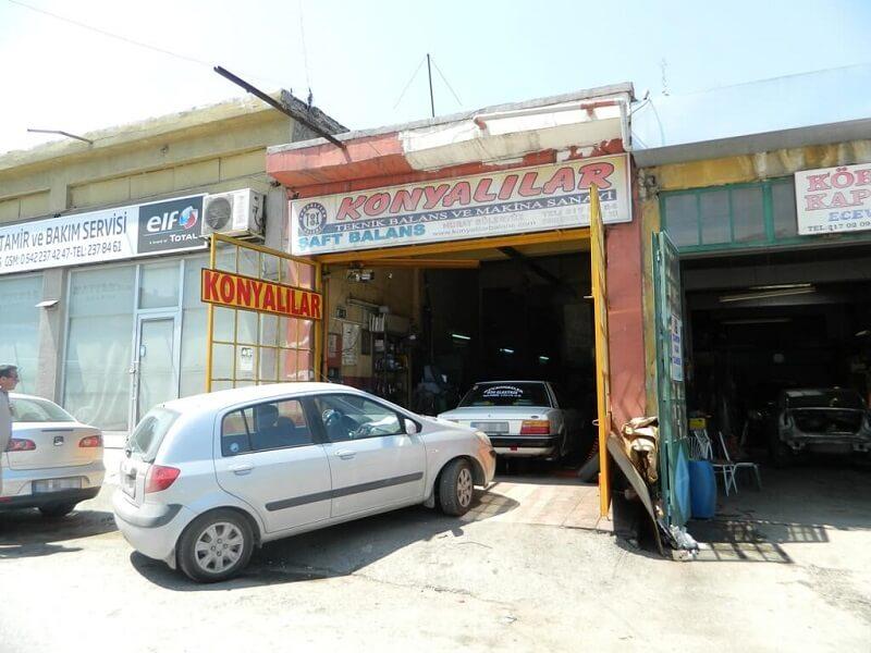 Eskişehir Rot Balans - Eskişehir Oto Tamir - Eskişehir Konyalılar Balans