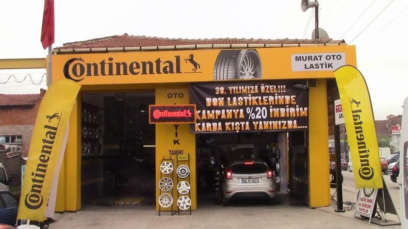Eskişehir Oto Lastik - Eskişehir Murat Oto Continental