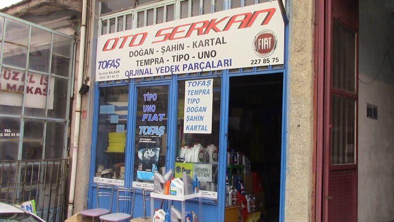 Eskişehir Orjinal Yedek Parça Satışı - Eskişehir Oto Serkan